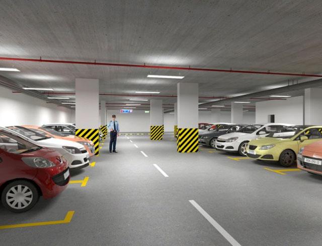 tiêu chuẩn của bãi đậu xe chung cư