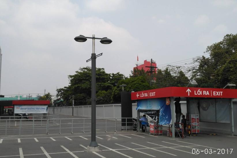 tiêu chuẩn vạch sơn bãi đỗ xe