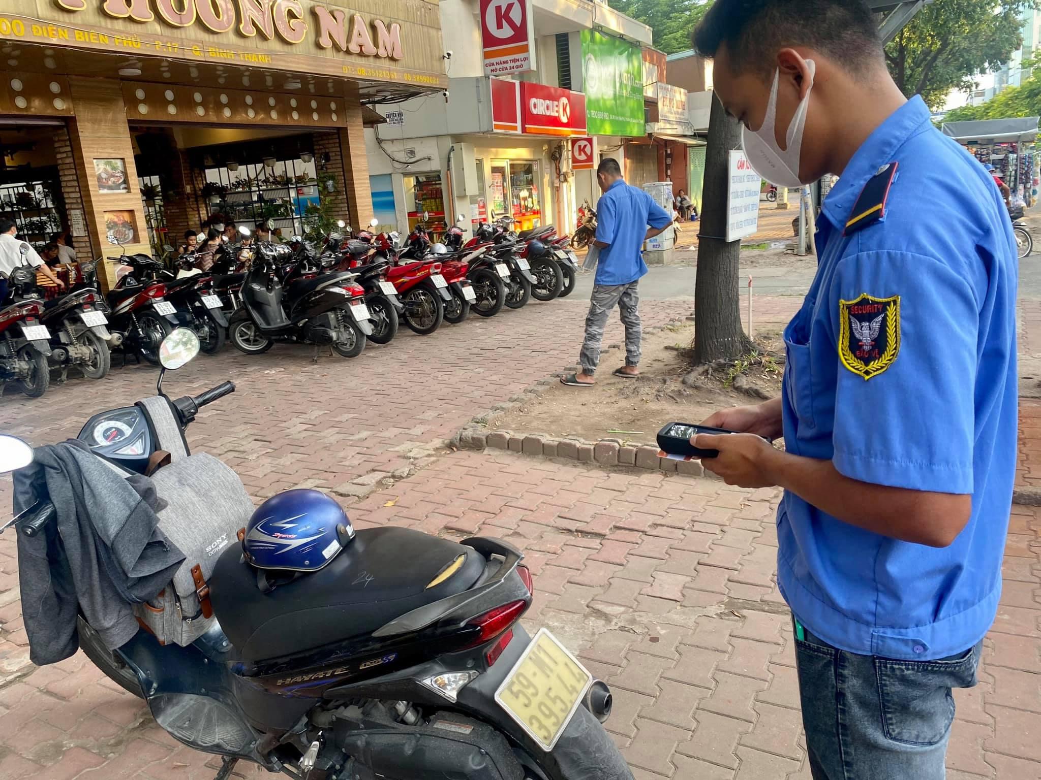 thủ tục kinh doanh bãi giữ xe máy